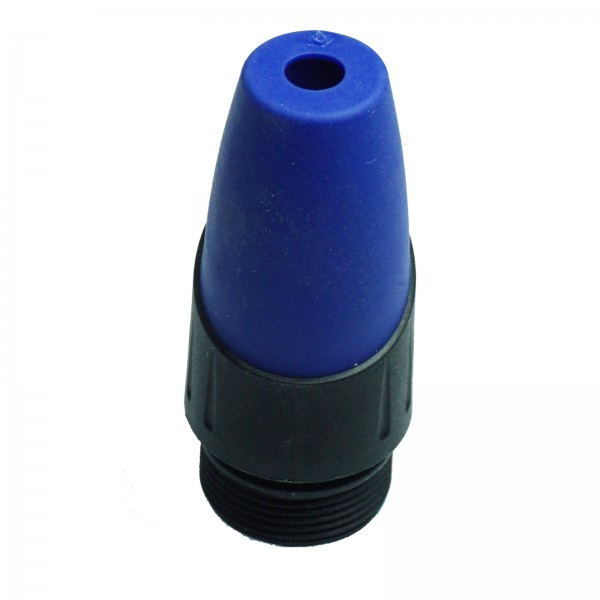 blaue Kabeltülle für XL-Serie