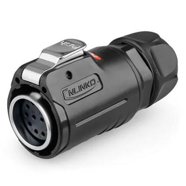 LP-24 Power Kabelkupplung 12 pol Weibchen max. 400 V 10 A