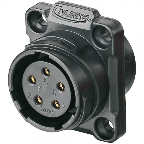 YM-20 Power Stecker M20 5 pol female socket square 400 V 12 A