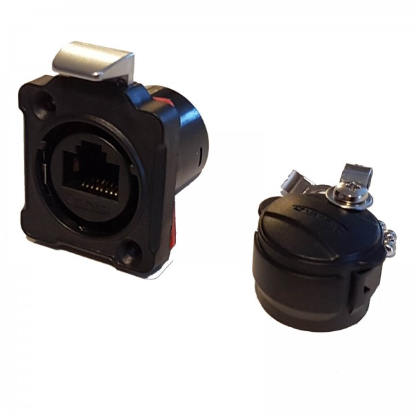 BD-24 RJ45 plastic socket