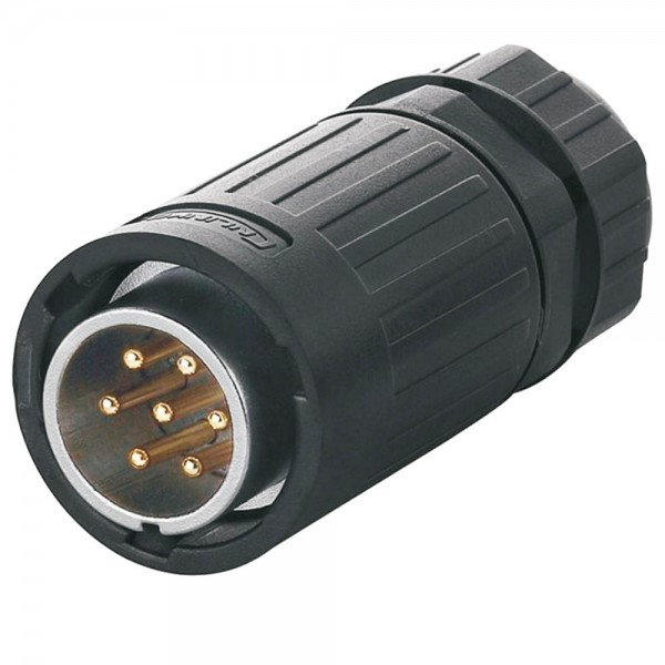 YA-20 Multicore Stecker M20 7 pol male plug 400 V 12 A