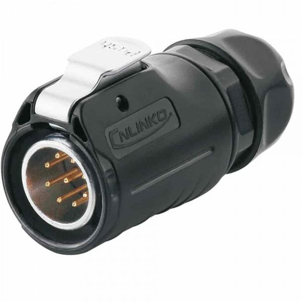 LP-20 Multicore Stecker M20 9 pol male plug 400 V 5 A IPX8