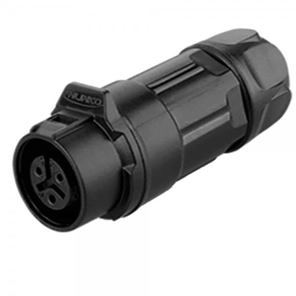 LP-16 Power Stecker M16 3 pol female cable plug 400 V 10 A