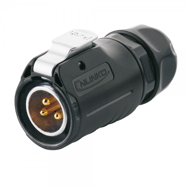 LP-20 Power Stecker M20 3 pol Männchen max. 500 V 20 A