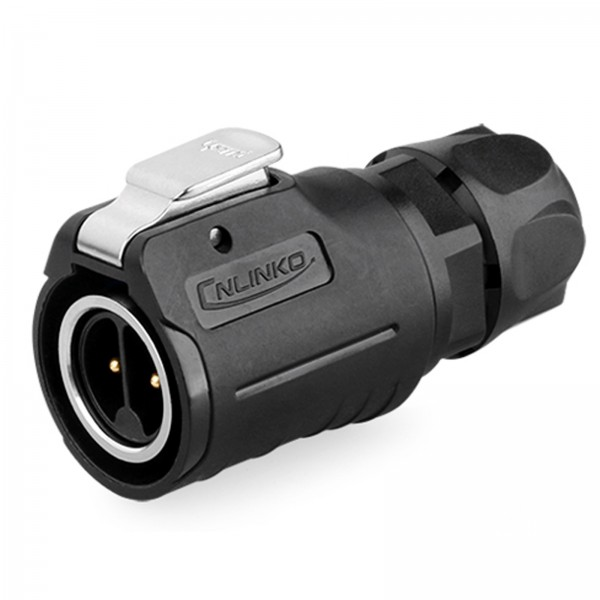 LP-16 Power Stecker M16 2 pol male plug 400 V 10 A