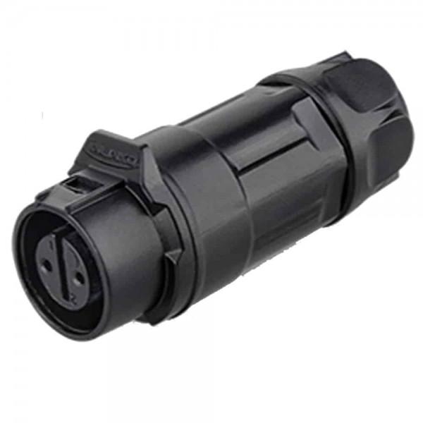 LP-16 Power Stecker M16 2 pol female cable plug 400 V 10 A