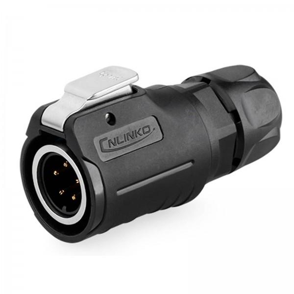 LP-16 Power Stecker M16 5 pol male plug 250 V 5 A IPX8