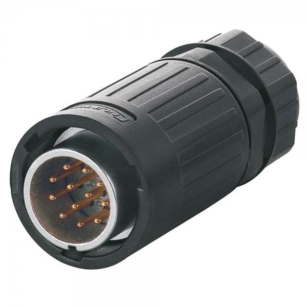 YA-20 Multicore Stecker M20 12 pol male plug 250 V 5 A
