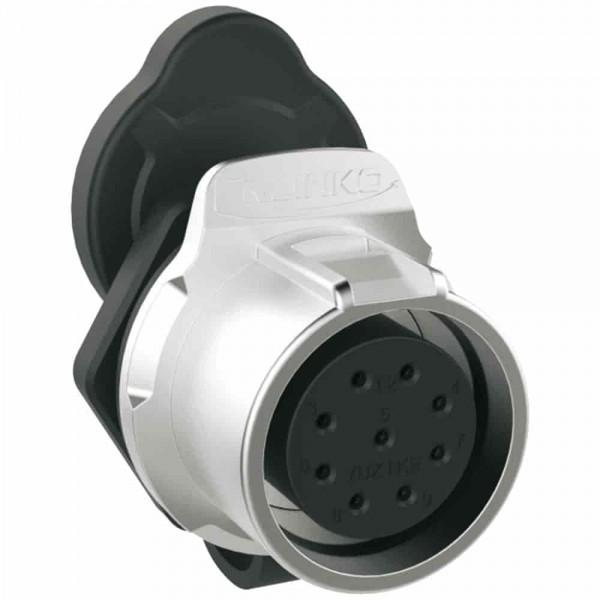 LP-20 Multicore Stecker M20 9 pol female socket round 400 V 5 A