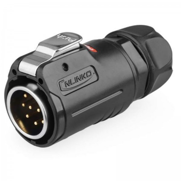LP-24 Power Kabelstecker 10 pol Männchen max. 400 V 10 A
