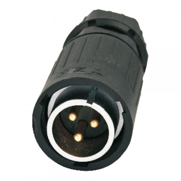 YA-20 Power 20 3 pol male plug 500 V 20 A