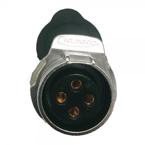 LP-20 Power Stecker M20 4 pol female socket round 500 V 20 A