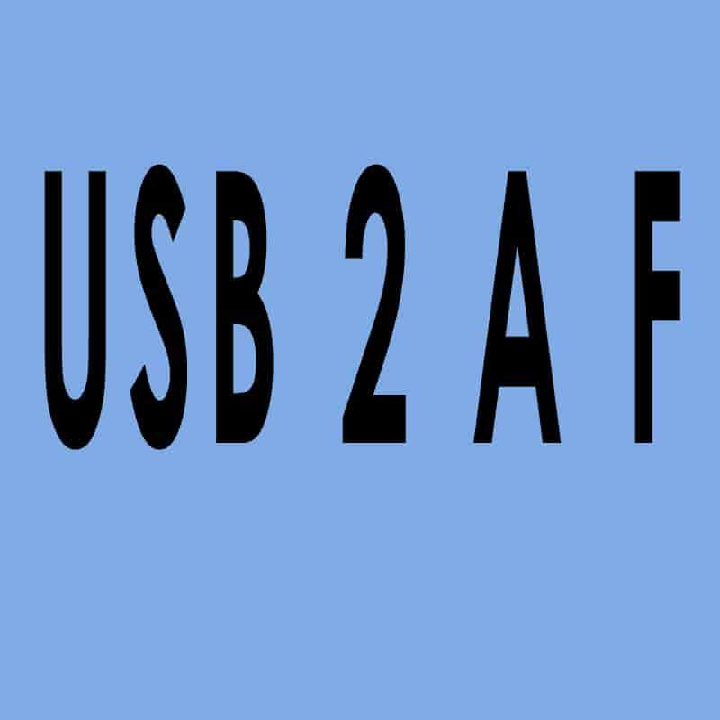USB 2.0 Typ A female