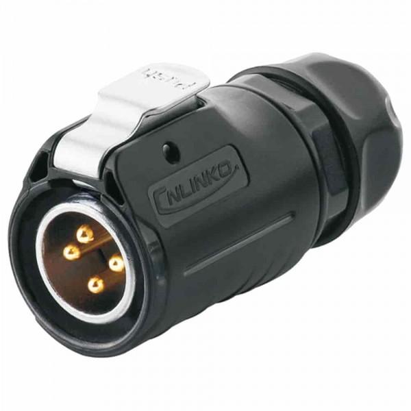 LP-20 Power Stecker M20 4 pol male plug 500 V 20 A