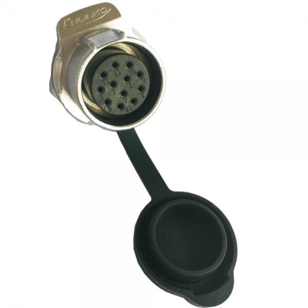 LP-20 Mult-Signal M20 12 pol female socket round 400 V 5 A