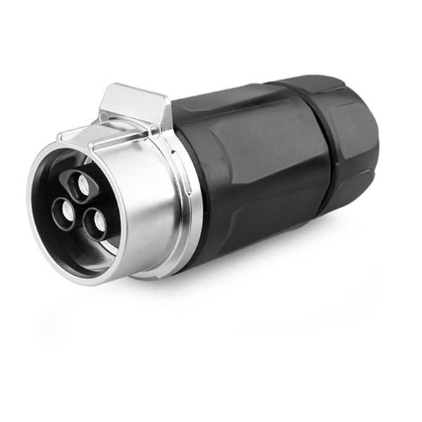 LP-28 Power Kabelkupplung 3 pol Weibchen max. 500 V 35 A
