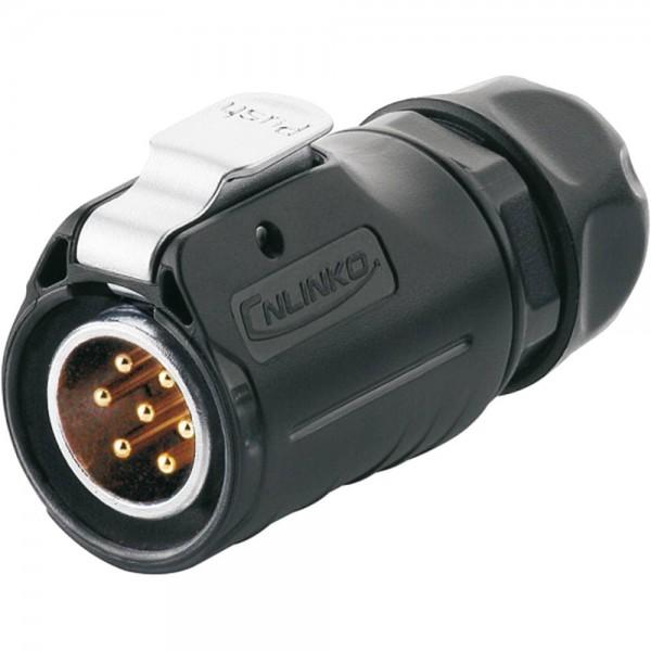 LP-20 Power Stecker M20 7 pol male plug 500 V 12 A