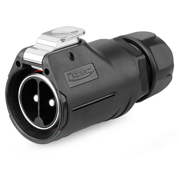 LP-28 Power Kabelstecker 2 pol Männchen max. 500 V 50 A
