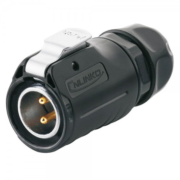 LP-20 Power Stecker M20 2 pol male plug 500 V 20 A