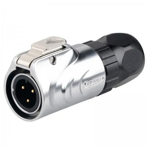 LP-12 IP67 Power Stecker Metall M12 3 pol male max. 125 V 5 A