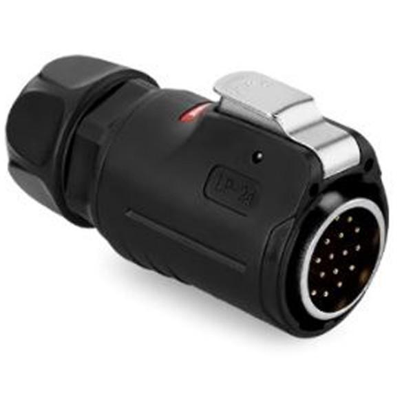 LP-24 Power Kabelstecker 19 pol Männchen max. 5 A