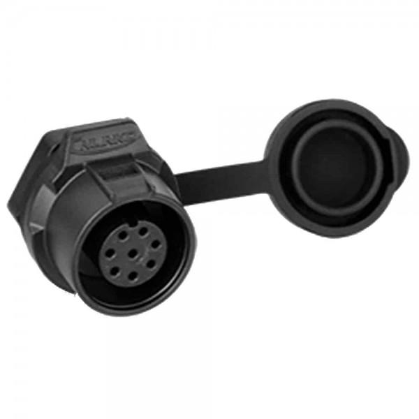 LP-12 Multicore Stecker M12 8 pol female socket Round 100 V 3 A