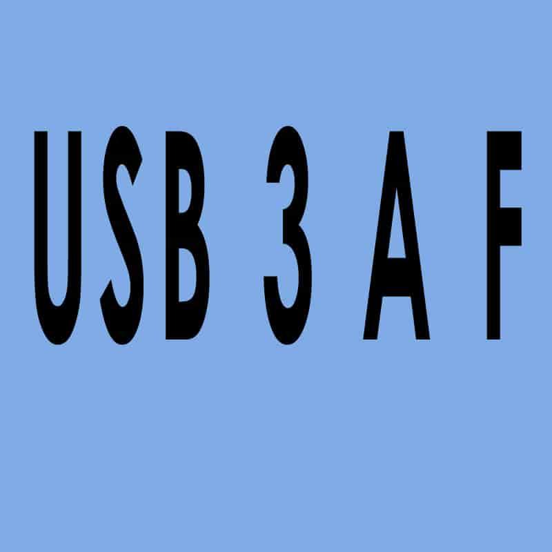 USB 3.0 Typ A female