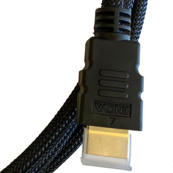 10 m HDMI Kabel unterstützt 4K @ 60Hz mit Nylonmantel 24AWG + 30AWG